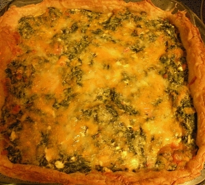 Spinach pie Spinasietert