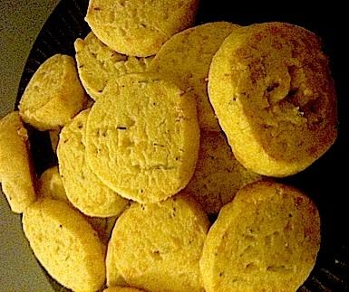 Rosemary-Swiss Shortbread Bites | Recipes on the Go