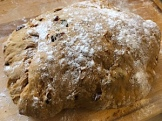 Molasses Raisin Dough 2